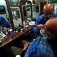 Barbiere e sbarbato