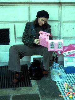 Cecilia al mercato di Sofia
